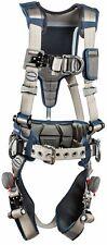 3m Dbi Sala Exofit Strata Construction Harness 1112541 Grey Blue Med