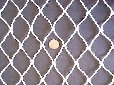 "Straightforward 20' X 9' Batting Cage Baseball Netting 2"" Nylon #48 Twine Test 480 Lbs"