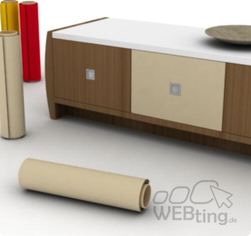 Beige 3m Furniture Foil Craft Foil Film Plotter Foil Adhesive Foil Desired Color eg