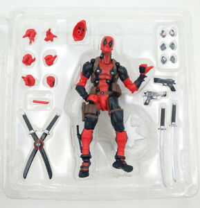 Marvel-Legends-DEADPOOL-X-men-Revoltech-Kaiyodo-Model-Toy-Comics-Action-Figure