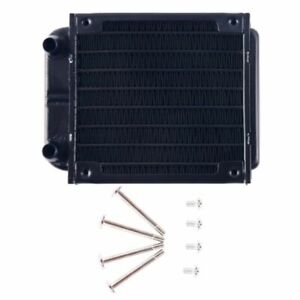 1Pc 80mm Aluminum Computer Radiator Water Cooling Cooler Fans for CPU Heatsink