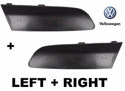 2Pcs For VW GTI Jetta 5 Mk5 2005-2010 Front Bumper Moulding Cap Cover