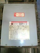 Cutler Hammer 5kva 1ph Transformer Type 3r S10k11s05n Hv 240x480 Lv 120240