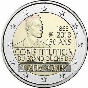 2-EURO-2018-LUSSEMBURGO-150-ANNIVERSARIO-COSTITUZIONE
