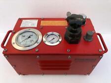 Presco Hydraulics Ahpu Air Hydraulic Fluid Liquid Test Pump 1500 Bar Wp