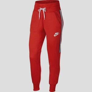 classic fit 100% genuine 100% genuine Details about Nike Women's Sportswear Tracksuit Dark Red/White Joggers-Sz  XS/S/M/L AR4403-618