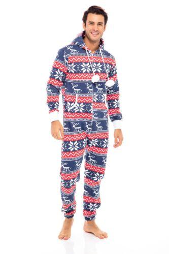 Men/'s Unisex Adult Onesie0 One Piece Non Footed Pajama Playsuit Jumpsuit