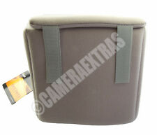 Fancier Colour Shell 20 Grey DSLR Camera Lens Protector Case any Bag