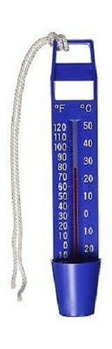Bulk Economy SCOOP THERMOMETER Easy to Read Dual Scale Pool Bath Lake Pond 9298