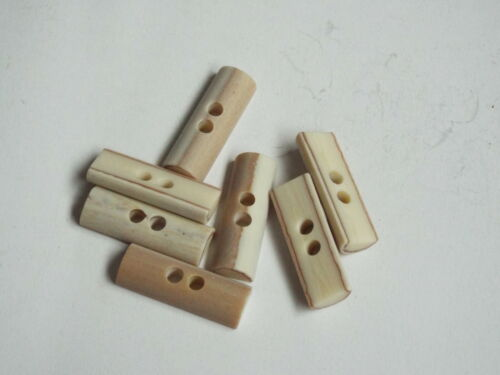 Ivory  toggle button ideal for Duffle Trench coat 2345 5pc 40mm Mock Bone