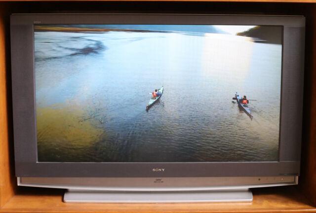 Sony Grand Wega Kdf E55a20 55 720p Hd Lcd Television For Sale