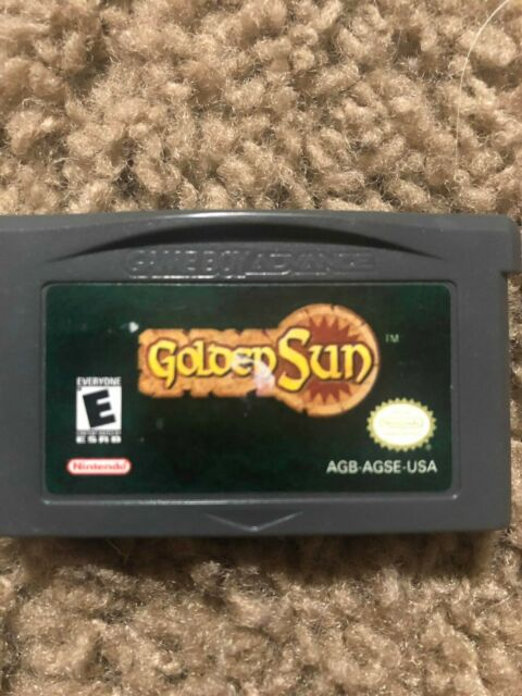 Golden Sun (Nintendo Game Boy Advance) tested authentic