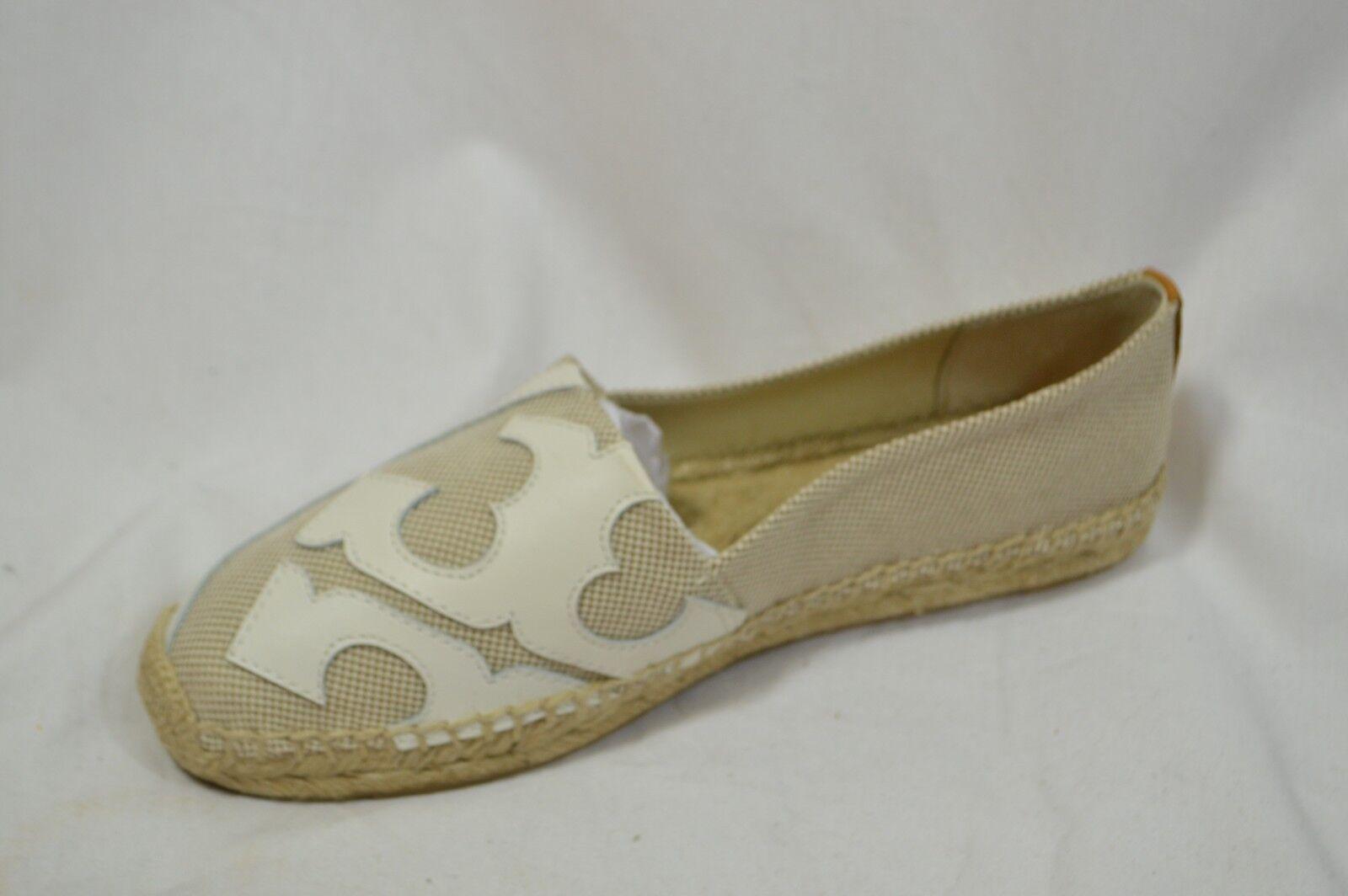 negozio d'offerta TORY BURCH scarpe scarpe scarpe Lonnie flat espadrills vnat cream nat canvas  al prezzo più basso