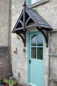 Ashcombe Timber Door Canopies Wooden