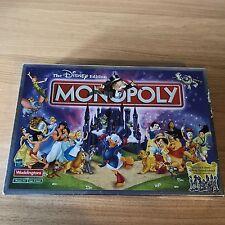 The Disney Edition Monopoly 2001 Hasbro Waddingtons 100% Complete Board Game