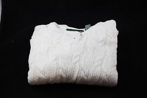 Sweater-Outback-Red-Women-039-s-Size-Small-Ivory-NEW