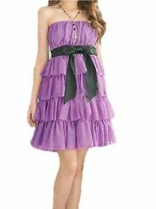 Robe-De-Soiree-bustier-Fille-ideale-pour-ceremonies-10-12-14-ans-enfant-VIOLET