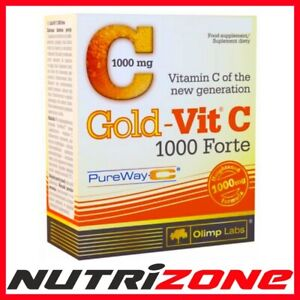 OLIMP GOLD VIT C 1000mg FORTE Antioxidant Immune System Booster Vitamin C Caps
