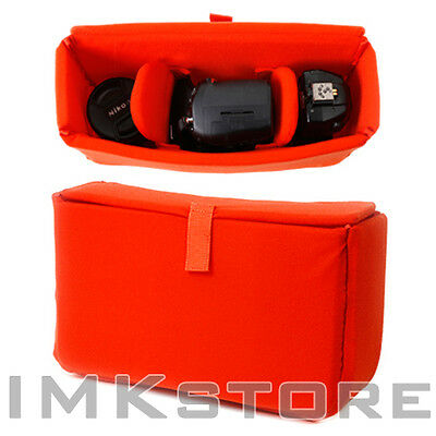 NEW MATIN Premium Partition Padded Bag Case L/OR Camera Insert for DSLR SLR Lens