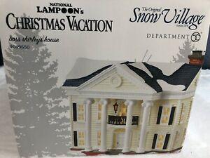 Download Dept 56 Christmas Vacation BOSS SHIRLEY'S HOUSE Original ...