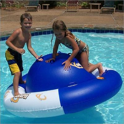 Aviva Saturn Rocker Inflatable Swimming Pool Kids Float Climber Toy