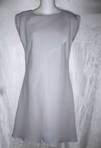 Grau 4 Giorgio in 3625 Neues Armani hellblauem von Kleid 40 qRYwxPT