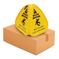 10 Pack Of Pop Up Caution Wet Floor Sign 16in For Restaurant Commercial And Ind