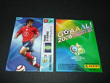 PARK JI-SUNG KOREA 대한민국 PANINI CARD FOOTBALL GERMANY 2006 WM FIFA WORLD CUP