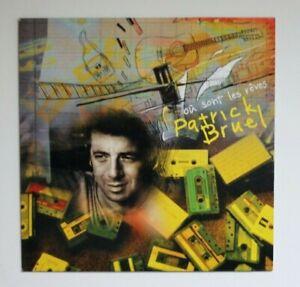 PATRICK-BRUEL-OU-SONT-LES-REVES-PROMO-CD-SINGLE