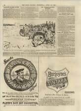 1892 Machine-gun Detachment Of Tower Hamlets Driving Off Enemy