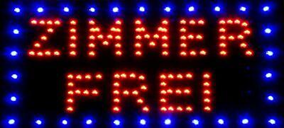 Werbung * Zimmer Leuchtschild Reklame Frei * Neu 1 Stück LED