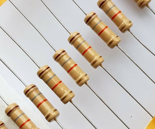 18K Carbon Film CF Resistor –ref:731 4 pcs 18000 ohm 3W 5/%
