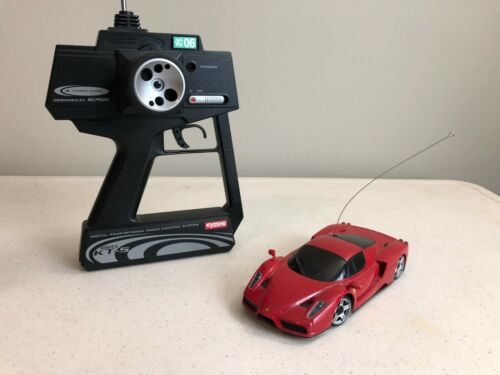 Rare Kyosho MINI-Z Racer ready set Enzo Ferrari Red Body R//C