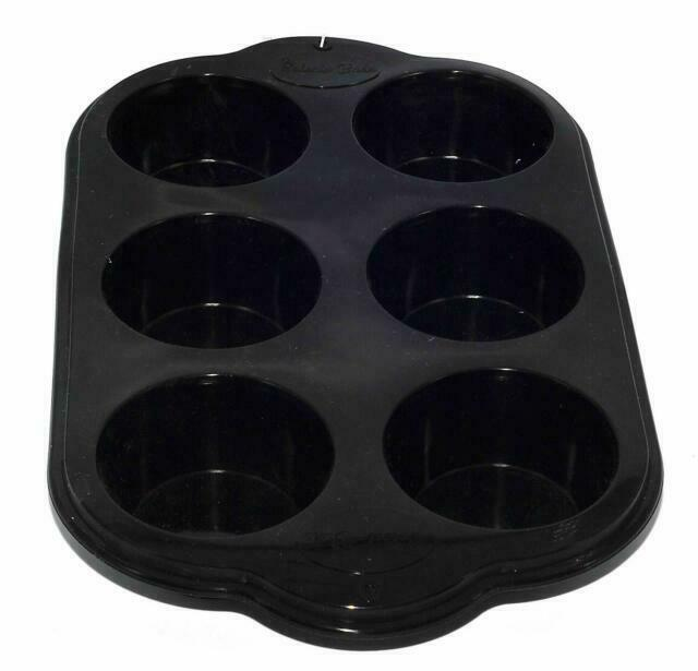 Silicone Non Stick 6 Cup Muffin Pan Tray Tin Baking Bakeware Cooking Mould Cake