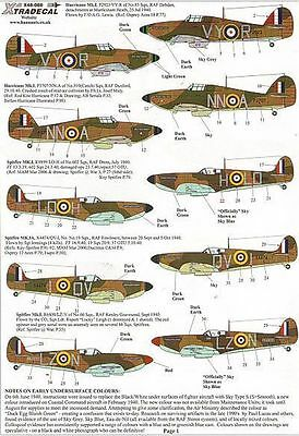 Xtradecal 1:48 Battle of Britain RAF - Hurricane and Spitfire