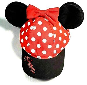 NWT-Authentic-Disney-Parks-Minnie-Ears-Hat-Youth-Kids-Size