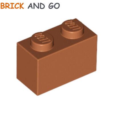 bright light orange NEUF NEW 6 x LEGO 3004 Brique Brick 1x2 jaune orangé
