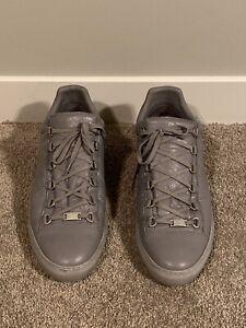 mens balenciaga arena sneakers Grey 13