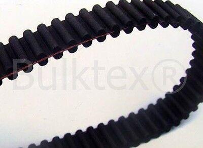 Bulktex® Zahnriemen 1600DS8M20 Twincut 102cm Mähwerk passend Castel Garden CE I