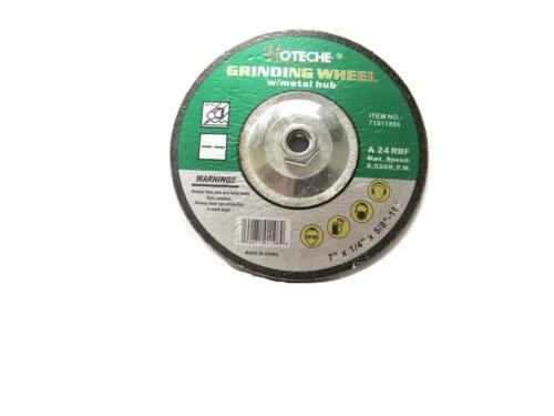 "5pcs 7/"" x 1//4/"" Grinding wheel with 5//8/"" X11 metal hub for Angle grinder cutting"
