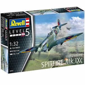 REVELL-1-32-SUPERMARINE-SPITFIRE-MK-IXC-MODEL-AIRCRAFT-KIT-PLANE-MODEL-03927
