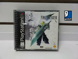 Final Fantasy VII (PlayStation 1, 1997) Complete! Good Condition! TESTED!!!