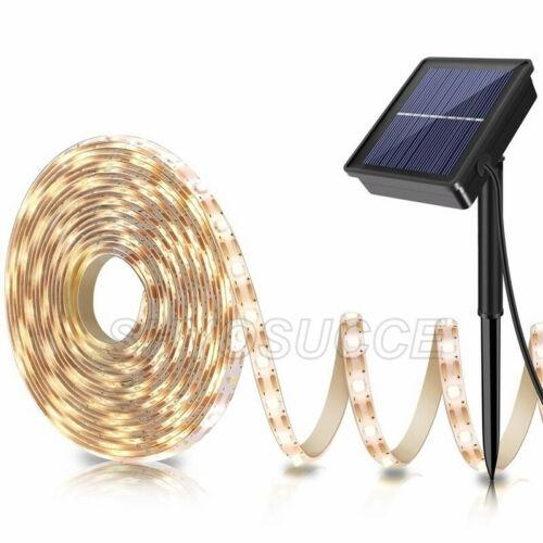 9.84 ft 2835 150 LED Solar Strip String Lights Tape Garden Xmas Party Decor Lamp