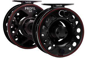 Leeda-Profil-5-6-amp-7-8-LA-Cassette-Fly-Fishing-Reel-2-Spare-Spools