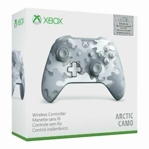 NEW-Microsoft-Xbox-One-Wireless-Gaming-Controller-Arctic-Camo-Special-Edition