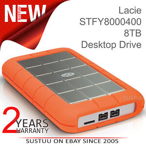 Image Is Loading Lacie Rugged Triple 1tb Usb 3 0 External