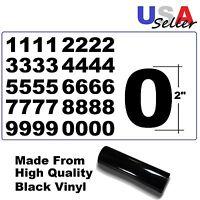 Set Of 4 Vinyl Mailbox, Toolbox, Lockers 2 Decals Stickers - 40 Numbers Sheet