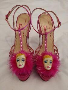 Rose Eu Peep Charlotte Olympia 2 Barbie Taille Plateforme À Toe Talons Haut Uk 35 Sandale wOnk0X8P