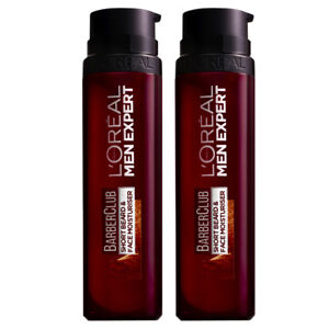 NEW L'Oreal Paris Men Expert Barber Club Short Beard & Face Moisturiser 50ml x 2