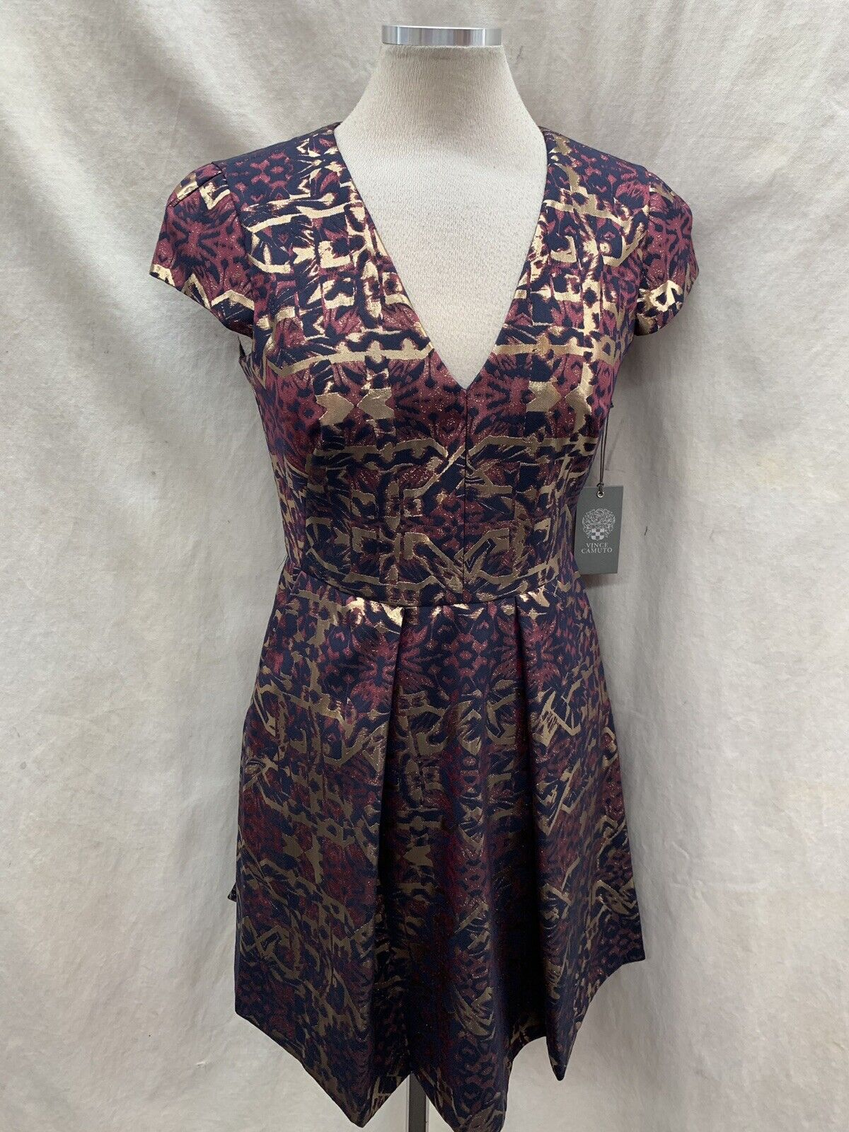 VINCE CAMUTO DRESS Größe 2 RETAIL NEW WITH TAG LINED LENGTH 37